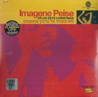 Виниловая пластинка The Flaming Lips / Imagene Peise IMAGENE PEISE / ATLAS EETS CHRISTMAS (Red 125 Gram vinyl)