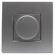 Панель APart N-VOLST-SLV Встраиваемый стереофонический аттенюатор громкости , цвет - серебристый.