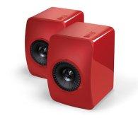 Полочная акустика KEF LS50 Racing Red