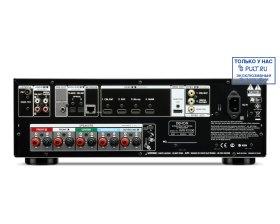 РАСПРОДАЖА AV Ресивер Denon AVR-X1000 black (Демо-образец, трещина на передней панеле, комплект - полный.