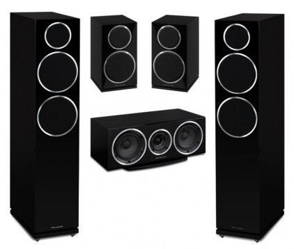 Комплект акустики Wharfedale Diamond 230/210 Set 5.0 black (230+210+220с)