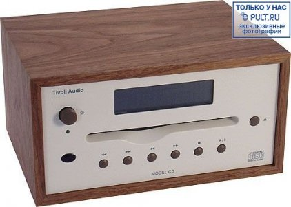 CD-проигрыватель Tivoli Audio Model CD cherry/metallic taupe (MCDTPEB)