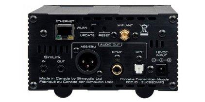 Сетевой аудио проигрыватель Sim Audio MOON 180 MiND black