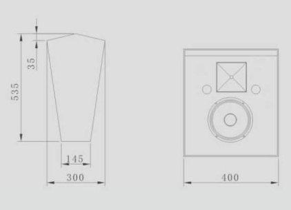 Акустическая система CINEMATIC C-110SR