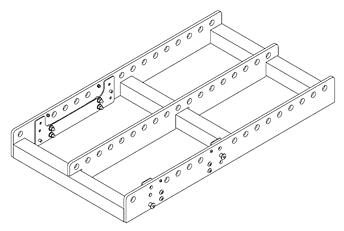Крепление QSC AF3082-L Рама для массива WL3082 и WL212-sw