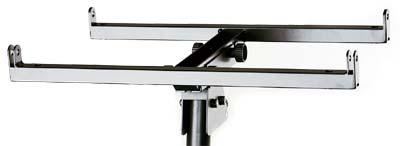dB Technologies DSA4 крепление для установки DVA T4, T8 (до 3 штук) на акуст стойку, сталь, черное