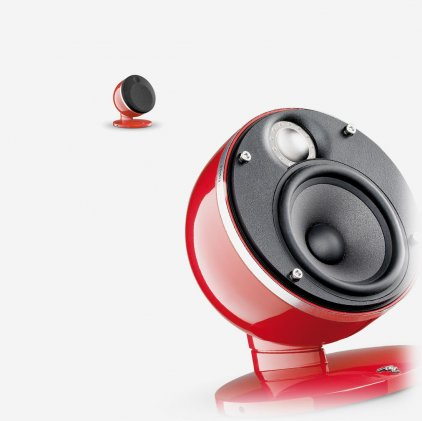 Focal-JMlab Pack Dome 2.0 imperial red
