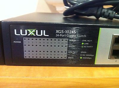 Гигабитный коммутатор Luxul XGS-1024S