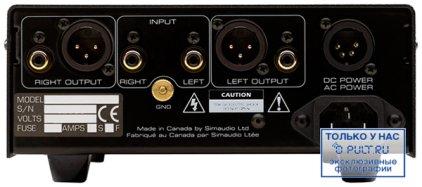 Фонокорректор Sim Audio MOON 110LP silver
