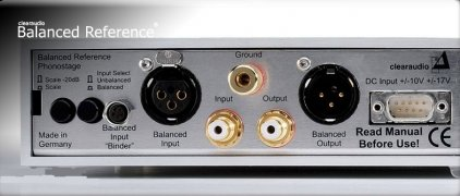 Фонокорректор Clearaudio Silver-G Phonostage Reference