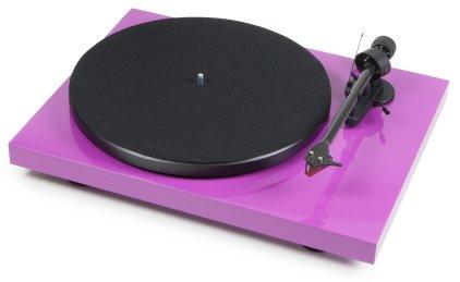 Проигрыватель винила Pro-Ject DEBUT CARBON PHONO USB (DC) (OM10) purple