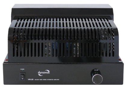 Ламповый усилитель Dynavox VR-20 black