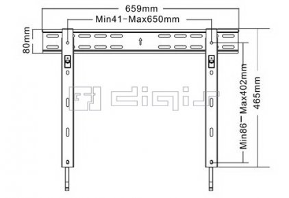 Кронштейн для телевизора Digis DSM07-46F