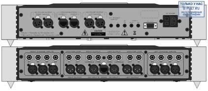 Предусилитель Sim Audio MOON 850P RS black (красный дисплей)
