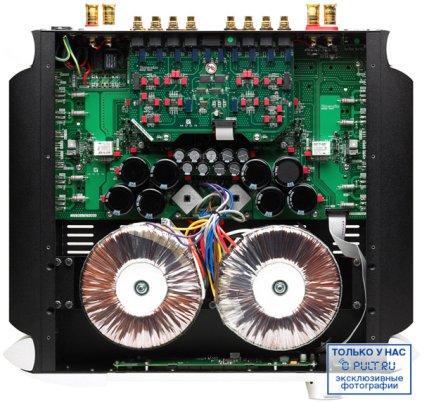 Стереоусилитель Sim Audio MOON 600i black (синий дисплей)