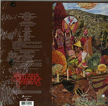 Виниловая пластинка Santana ABRAXAS (180 Gram)