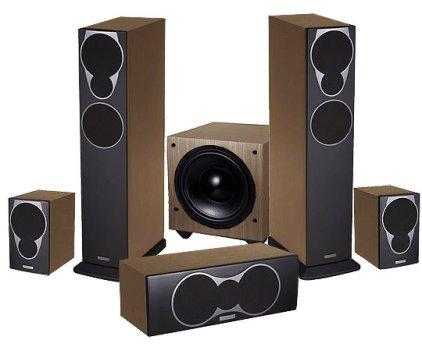 Полочная акустика Mission MX-S rosewood
