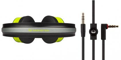 Наушники Monster iSport Freedom Wireless Bluetooth On-Ear Green (128939-00)