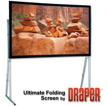"Экран Draper Ultimate Folding Screen NTSC (3:4) 244/96"" 147*201 MW 241008"