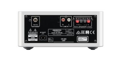 Музыкальный центр Onkyo CS-265 red