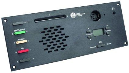 Микрофонный врезной пульт делегата DIS DM 6680 F (для серии DCS6000)