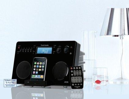 Музыкальный центр Tivoli Audio iYiYi silver/black (iYiYiSB)