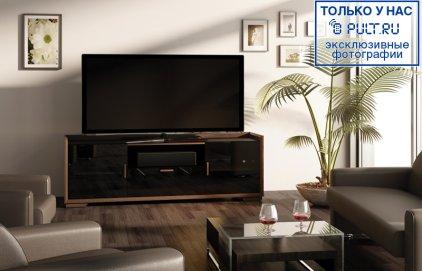 Подставка под ТВ и HI-FI Salamander SDAV2/7224/W