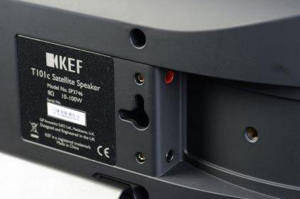 Настенная акустика KEF T101C black