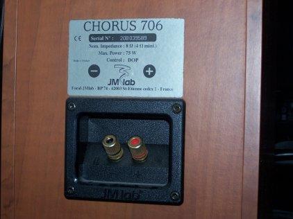 Полочная акустика Focal Chorus 706 walnut