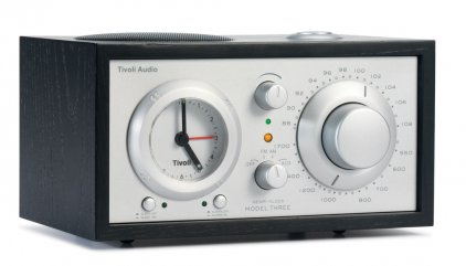 Радиоприемник Tivoli Audio Model Three black/silver (M3BLK)