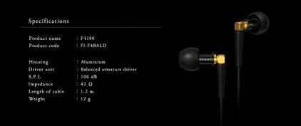 Наушники Final Audio Design F4100