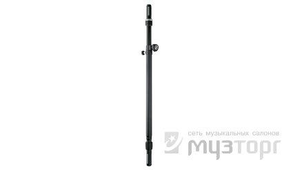Стойка K&M K&M 21366-014-55 Ring Lock соединительная стойка для АС, высота от 950 до 1,370 мм, труба диам. от 35 до 37 мм