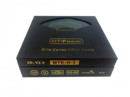 Кабель MT-Power HDMI 2.0 ELITE 1.0m