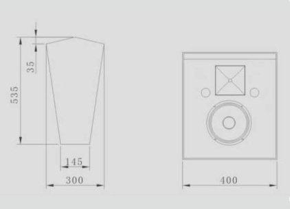 Акустическая система CINEMATIC C-108SR