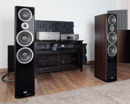Напольная акустика Heco Music Style 1000 Black/Espresso