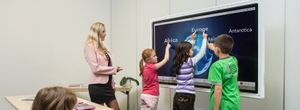 "Интерактивная LED панель Triumph Board 84"" MultiTouch"