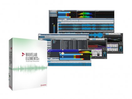 Программное обеспечение Steinberg WaveLab Elements 9