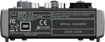 Микшерный пульт Behringer 302USB