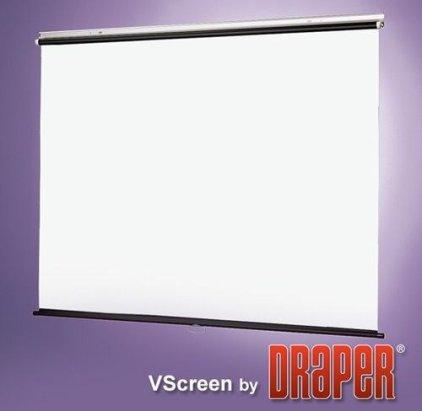 """Экран Draper VScreen AV (1:1) 96/96"""" 244*244 XT1000E (MW)"""