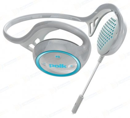 Наушники Polk Audio UltraFit 2000 grey/cyan