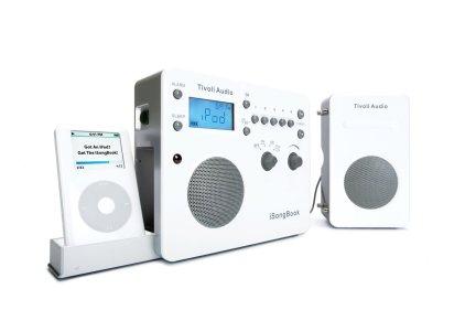Радиоприемник Tivoli Audio Songbook white/silver (SBWS)