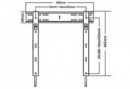 Кронштейн для телевизора Digis DSM07-44F