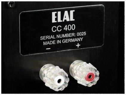 Центральный канал Elac CC 400 high gloss walnut