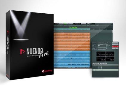 Программное обеспечение Steinberg Nuendo Live Retail