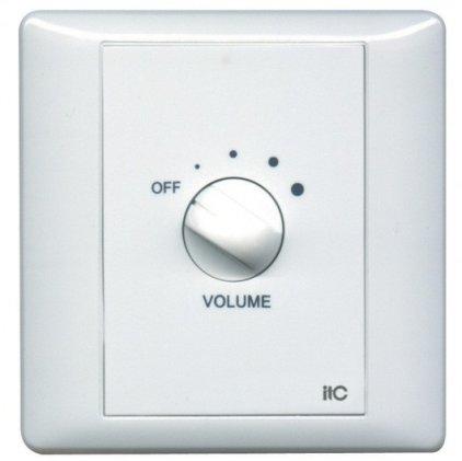 Панель ITC T-16F Регулятор громкости 60 Вт/100 В, реле принудительного включения