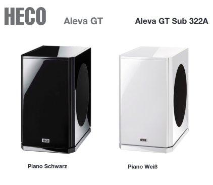 Сабвуфер Heco Aleva GT Sub 322 A piano white