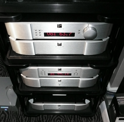 Предусилитель Sim Audio MOON 850P RS silver (синий дисплей)