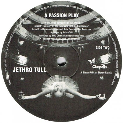 Виниловая пластинка Jethro Tull A PASSION PLAY – AN EXTENDED PERFORMANCE (Heavyweight vinyl)