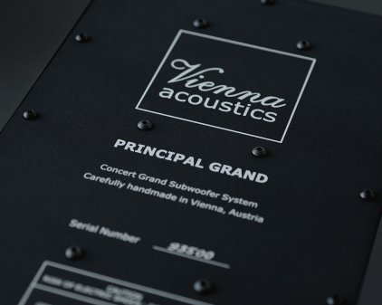 Сабвуфер Vienna Acoustics Principal Grand cherry