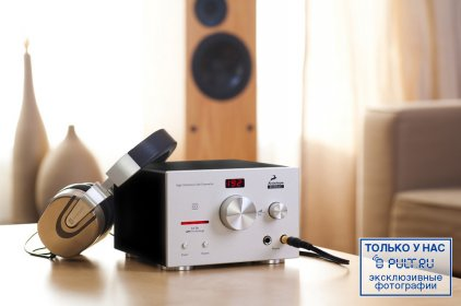 Antelope Audio Zodiac 192 kHz DAC silver